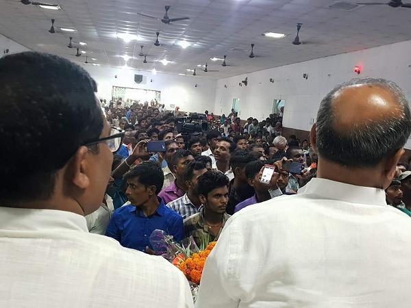 दिनांक – 2 अक्टूबर, 2018 जिला बांका, बिहार जनता दल यूनाइटेड में राष्ट्रीय महासचिव सह संगठन प्र