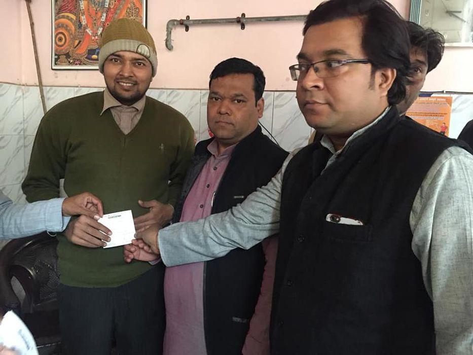लक्ष्मी नगर विधानसभा के अंतर्गत युवा जदयू की कार्यकर्ता समीक्षा बैठक का आयोजन किया गया. जिसकी अध्यक्