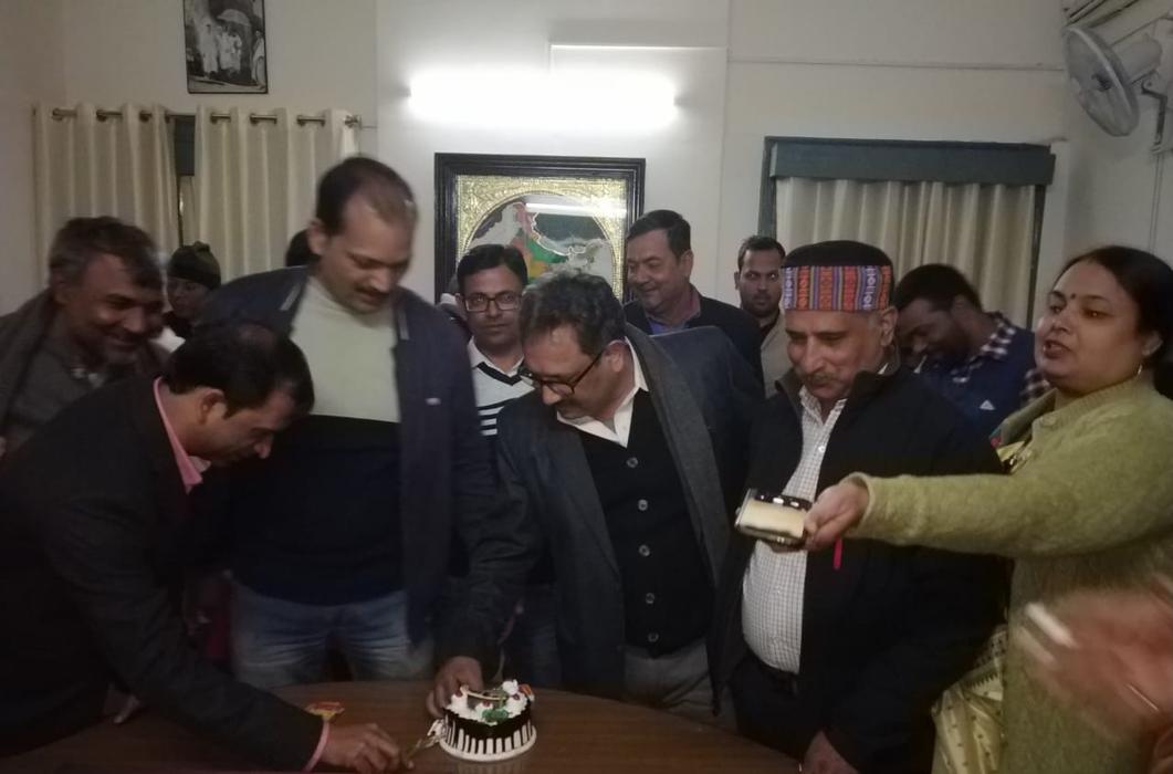 जनता दल यूनाइटेड के राष्ट्रीय महासचिव (संगठन) सह नेता संसदीय दल आदरणीय श्री रामचंद्र प्रसाद सिंह जी