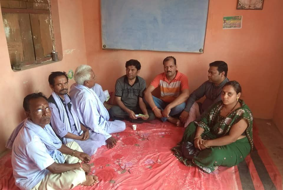 युवा जदयू दिल्ली - झंझारपुर में डोर टू डोर जनसंपर्क कार्यक्रम का आयोजन-झंझारपुरसे एनडीए से जदय
