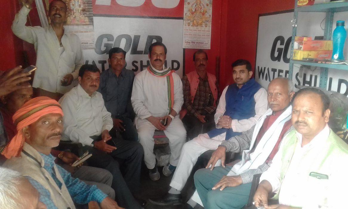 कानपुर नगर ग्रामीण कांग्रेस कमेटी के अकबरपुर लोकसभा क्षेत्र के उम्मीदवार माननीय राजीव द्विवेदी जी ने