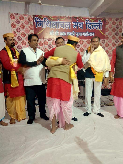 मिथिलांचल मंच दिल्ली की ओर से श्री शम्भू कुंवर जी की अध्यक्षता में शालीमार बाग़ स्थित डॉ. साहिब सिंह