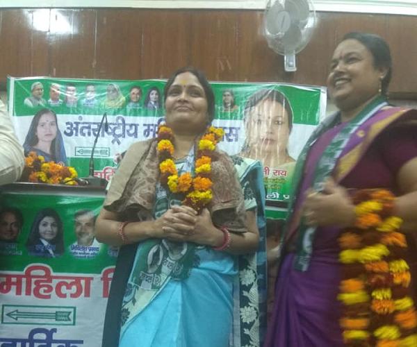"""अमल कुमार – अंतर्राष्ट्रीय महिला दिवस के अवसर पर जदयू कार्यालय में कार्यक्रम-""""महिलाओं का सम्मान ही द"""