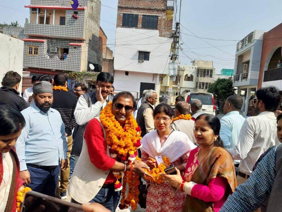 कुंवर ज्योति प्रसाद वार्ड के पार्षद श्री शिवपाल सावरिया जी ने त्रिमूर्ति मैरिज हॉल के पास मार्केट की