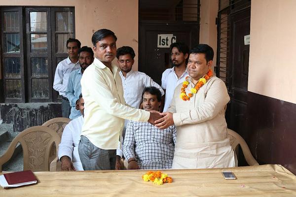 29 जुलाई, 2018 बदरपुर, दिल्ली बदरपुर की ओम नगर कॉलोनी में स्थित गंगा देवी पब्लिक स्कूल