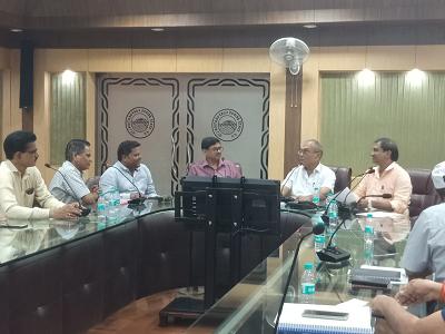 दिनांक - 18 सितम्बर, 2018राजाजीपुरम, लखनऊसेतु निगम प्रधान कार्यालय में तुरियागंज बाजार ख