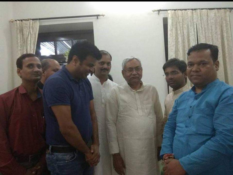 बिहार के मुख्यमंत्री सह जनता दल यूनाइटेड के राष्ट्रीय अध्यक्ष सम्मानीय श्री नीतीश कुमार जी का आज 69व