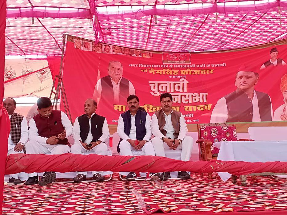 राजस्थान के भरतपुर जिले के नगर विधानसभा क्षेत्र में माननीय सर्वेश अंबेडकर जी (प्रदेश अध्यक्ष एससी/ए