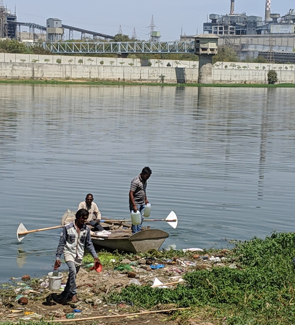 Pani ki Kahani : Sabarmati river update - Joint inspection of PSS and GPCB shows the disastrous coon