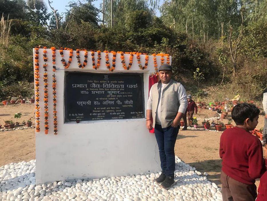 निर्मल हिंडन कार्यक्रम के तहत शिवालिक की तलहटी में बसे कोठरी, बहलोलपुर गांव मे आयोजित कार्यक्रम के म
