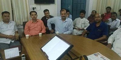 दिनांक : 29 अगस्त, 2018 नई दिल्ली दिल्ली प्रदेश युवा जदयू के पदाधिकारियों के साथ युवा जदयू के राष्ट्