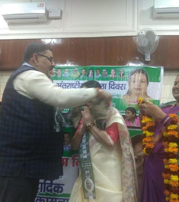 युवा जदयू दिल्ली – जदयू कार्यालय में अंतर्राष्ट्रीय महिला दिवस के अवसर पर कार्यक्रम-