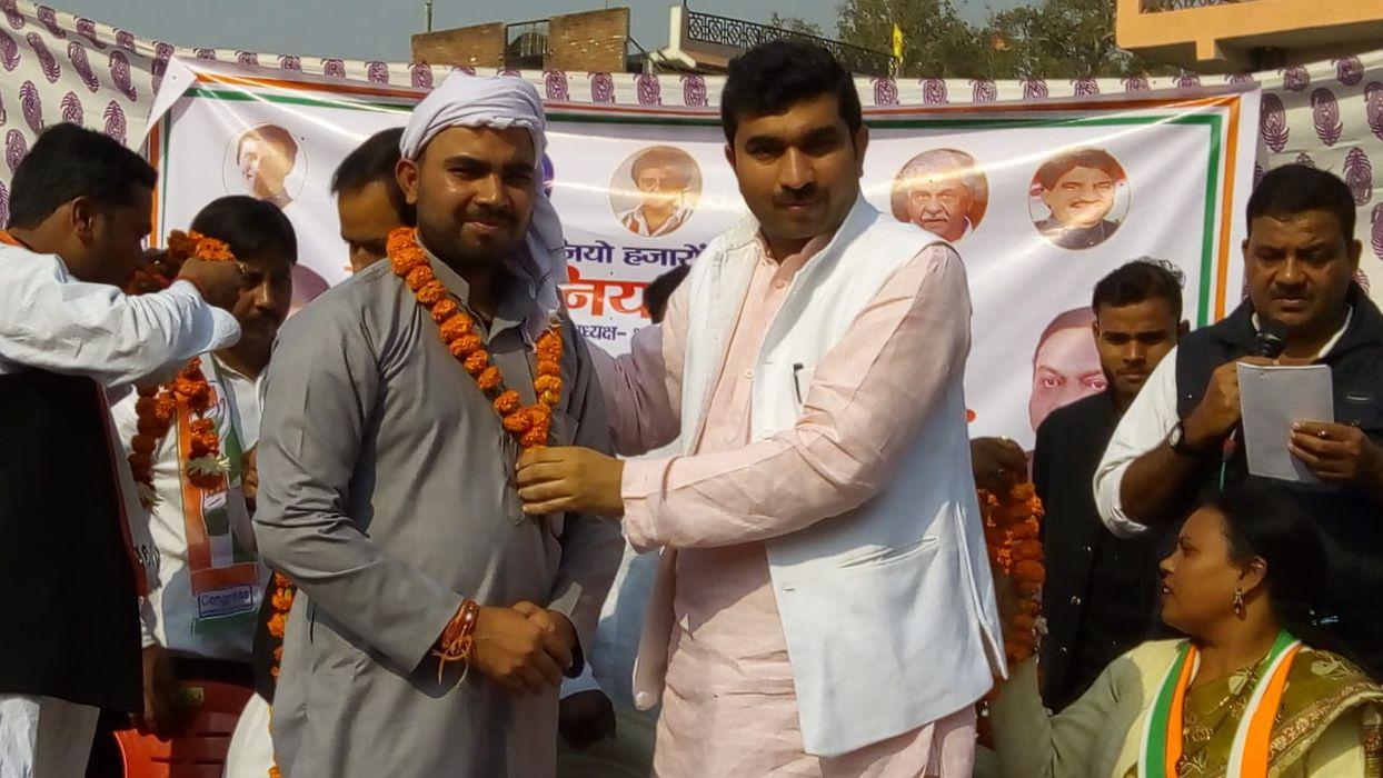कानपुर नगर ग्रामीण कांग्रेस के अंतर्गत अकबरपुर लोकसभा 44 से कांग्रेस पार्टी के प्रत्याशी एवं अधिवक्त