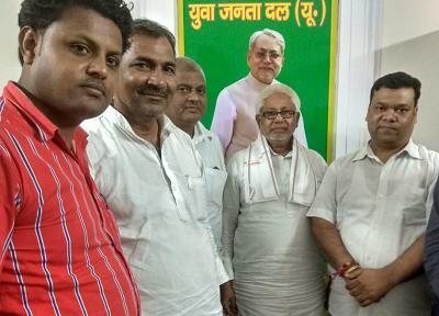 दिनांक : 29 अगस्त, 2018 7 जंतर मंतर, नई दिल्ली बिहार विधान परिषद में मुख्य सचेतक आदरणीय श्री संजय गा
