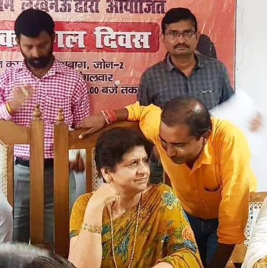 शिवपाल सावरिया - हरिजन बस्ती, आलमनगर में निर्मित होगा कल्याण मंडप-वार्ड 70, कुंवर ज्योति प्रसाद के अ