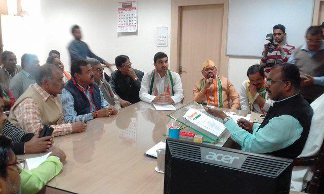 कानपुर की महाराजपुर एवं कल्यानपुर विधानसभा के सोसाइटी क्षेत्रों में संरचनात्मक विकास कार्यों के सुचा