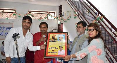 दिनांक - 7 सितम्बर, 2018राजाजीपुरम, लखनऊशिक्षक दिवस के उपलक्ष्य में उत्तर प्रदेश जनकल्याण समिति के त