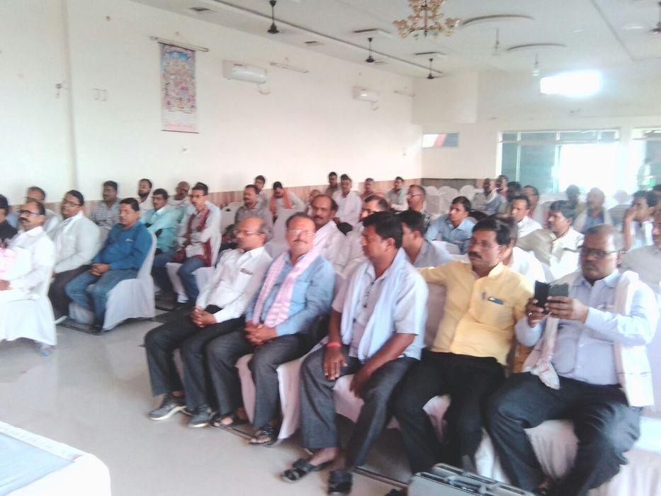 मिर्जापुर , भारत सरकार द्वारा इंश्योरेंस सेक्टर पर लगाए गए जीएसटी के विरोध में आंदोलनात्मक कार्यवाही