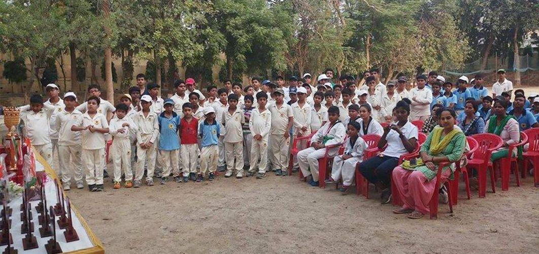 3 जून, 2018राजाजीपुरम, लखनऊमिनी स्टेडियम राजाजीपुरम में गुलमोहर क्रिकेट अकैडमी द्वार
